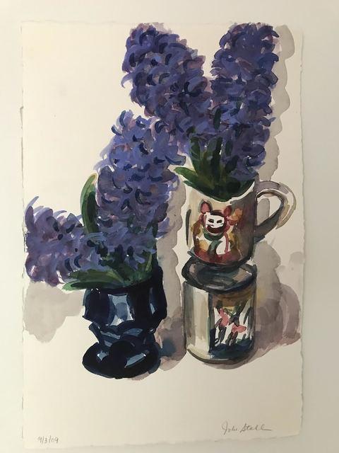 , 'Hyacinths,' 2009, Jessica Hagen Fine Art + Design