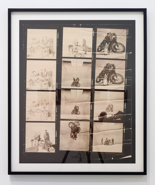 , 'Second Fantasy #2 (Bikers), Market Street Program,' 1971, Diane Rosenstein
