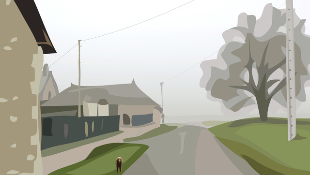 Julian Opie, 'Winter 39.', 2012, Alan Cristea Gallery