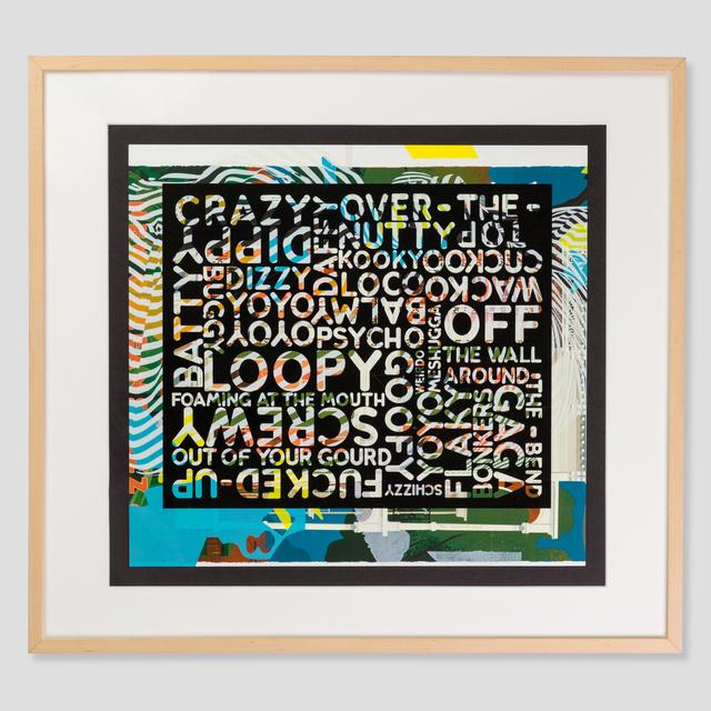 , 'Crazy (with background noise),' 2018, Zane Bennett Contemporary Art