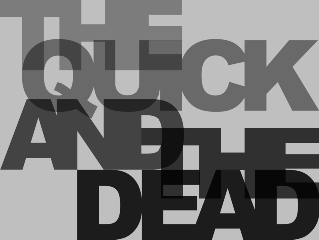 , 'The Quick And The Dead,' 2010, Ingleby Gallery