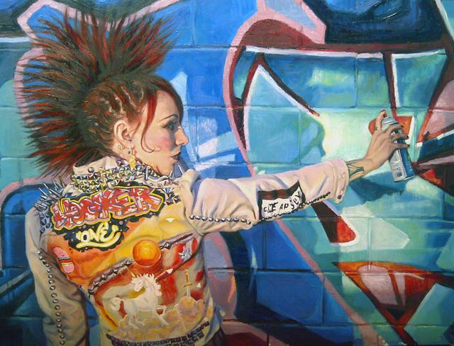 , 'Hooker 1,' 2011, Jonathan LeVine Projects