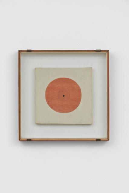 Bice Lazzari, 'Il cerchio [The circle] or Disco rosso [Red disk]', 1981, Richard Saltoun