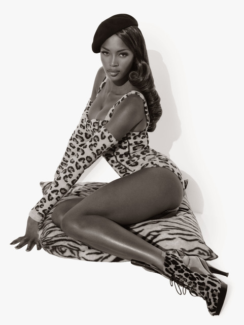 Herb Ritts, 'Naomi Seated', 1991, Photography, Gelatin Silver Print, CAMERA WORK