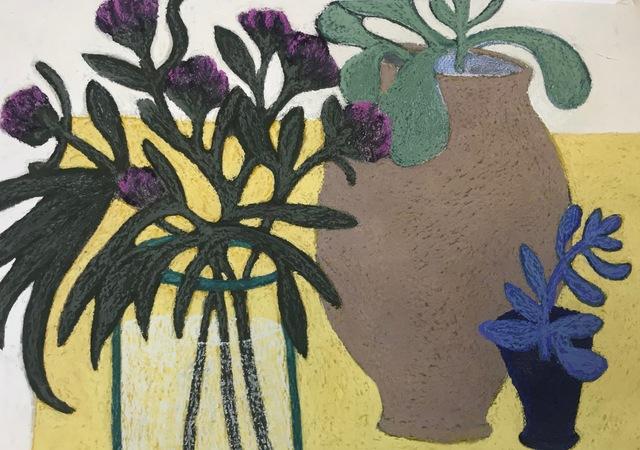 Angela A'Court, 'Blue Plant', 2019, Susan Eley Fine Art