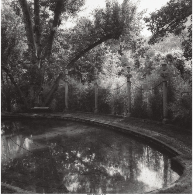 Lynn Geesaman, 'La Mormaire, Grosrouvre, France, 1988, Love Temple, Longwood Gardens, 1984, and Dumbarton Oaks, 1986 (three works)', Heritage Auctions