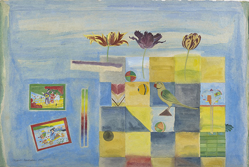 , 'Blue Still Life,' 1980, The Scottish Gallery