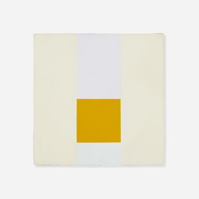 Max Bill, 'Gelbe Neuntel', 1959-1969, Wright