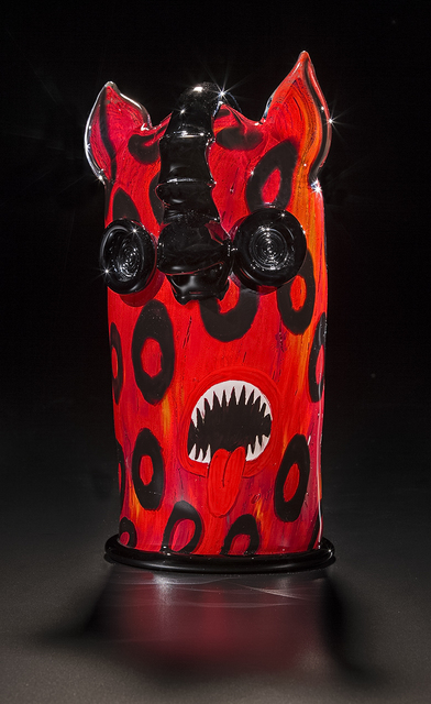 , 'RED & BLACK JAGUAR,' 2016, Traver Gallery
