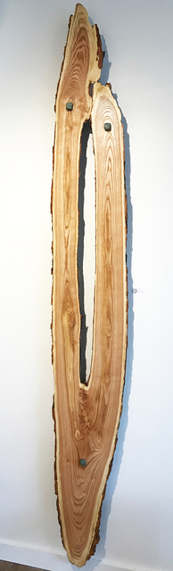 Adam Schwoeppe, 'Original Wood Art 'Reaching' Contemporary Lodge Decor, Wooden Wall Sculpture', 2017, Fringe Gallery