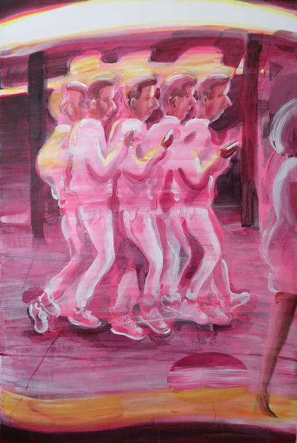 Hilary Doyle, 'Walking', 2020, Painting, Acrylic on canvas, Taymour Grahne Projects