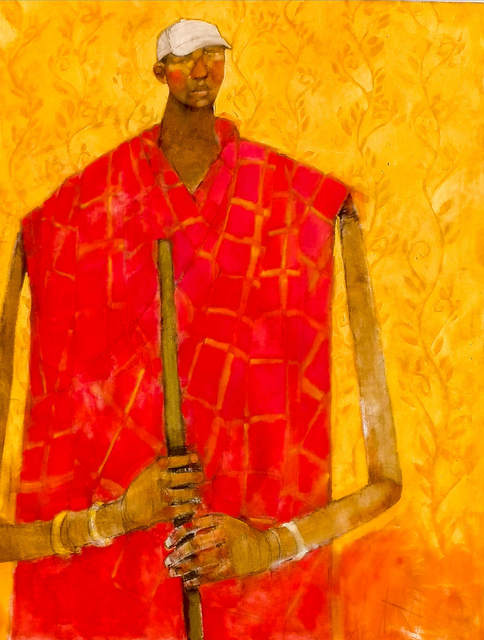 , 'Young Masaai Herder,' 2019, Out of Africa Gallery
