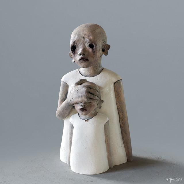 Nathalie Gauglin, 'N° 406 Ferme les yeux', 2021, Sculpture, Ceramics, GALLERI RAMFJORD
