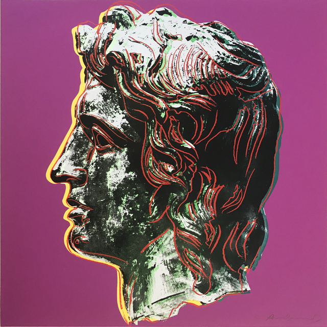 Andy Warhol, 'Alexander the Great II.291', 1982, Maddox Gallery