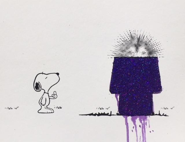 , 'FU Snoopy and Crooked Mane (Purple) ,' , Corey Helford Gallery