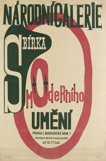 Frantisek Tichy, 'NARODNI GALERIE / SBIRKA MODERNIHO UMENI', 1947, Swann Auction Galleries