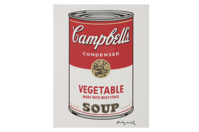 Andy Warhol, 'Campbells Soup Vegetable', 1980s, Chiswick Auctions