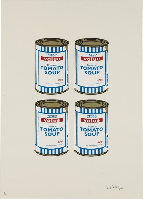 , 'Soup Cans Quad,' 2006, Taglialatella Galleries