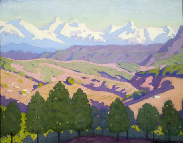 , 'Nanda Devil Range,' ca. 1937, ACA Galleries