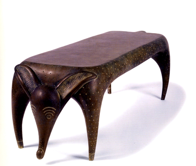 , 'Timid Dog Bench,' 2004, Wexler Gallery