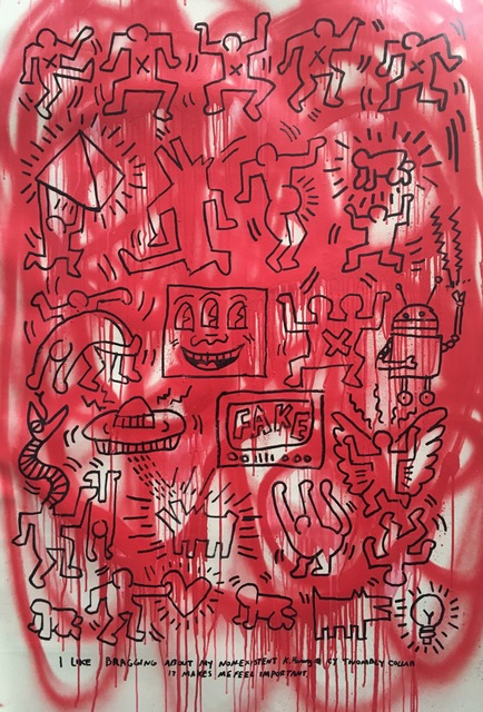 , 'Non-Existent Haring Twombly,' 2018, Imitate Modern