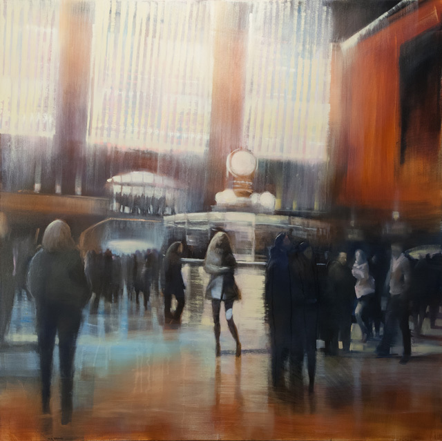 , 'Grand Central,' 2017, Lily Pad West