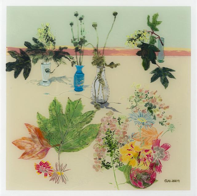 , 'Hydrangea Landscape #2,' 2019, Valley House Gallery & Sculpture Garden