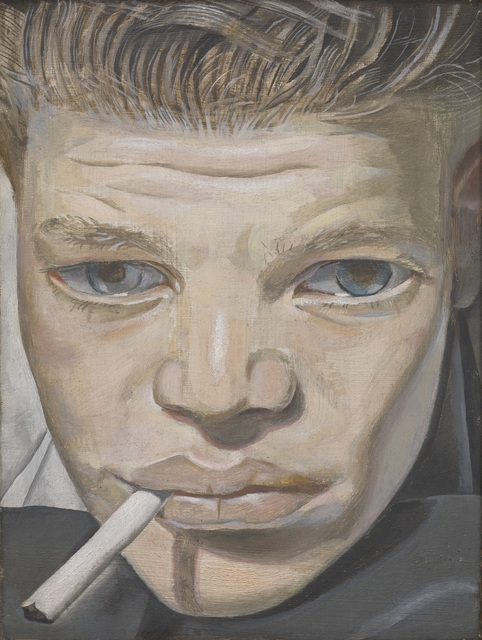 , 'Boy Smoking,' 1950-1951, J. Paul Getty Museum