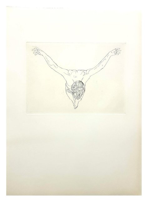 """Salvador Dalí, 'Original Etching """"Christ Study"""" by Salvador Dali', 1951, Galerie Philia"""