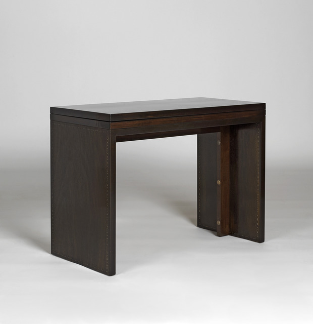 , 'Convertible console / table. The top swivels and unfolds.,' ca. 1936, Galerie Alain Marcelpoil
