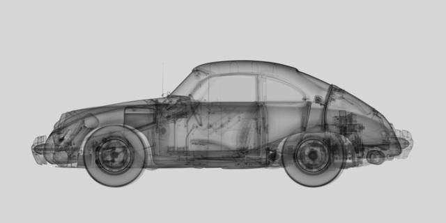 Nick Veasey, '1959 Porsche 356B Coupe', Villa del Arte Galleries