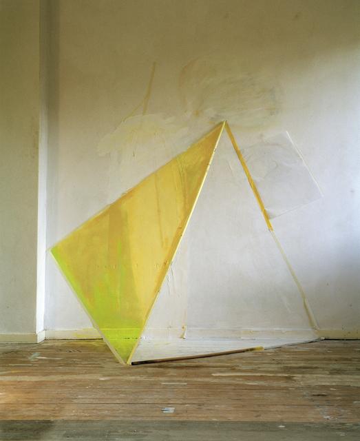 , 'Atelierwerk 1(geel),' 2012, Galerie Bart
