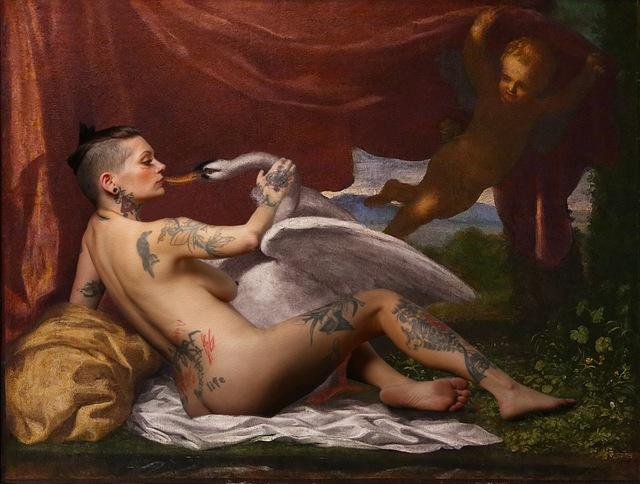 SameSource, 'Léde et le Cygne', 2019, Fabrik Projects Gallery