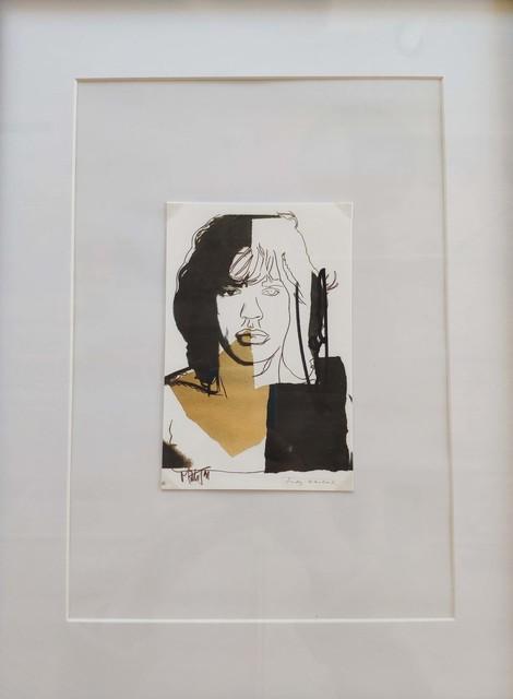 Andy Warhol, 'Mick Jagger', 1975, Es Arte Gallery