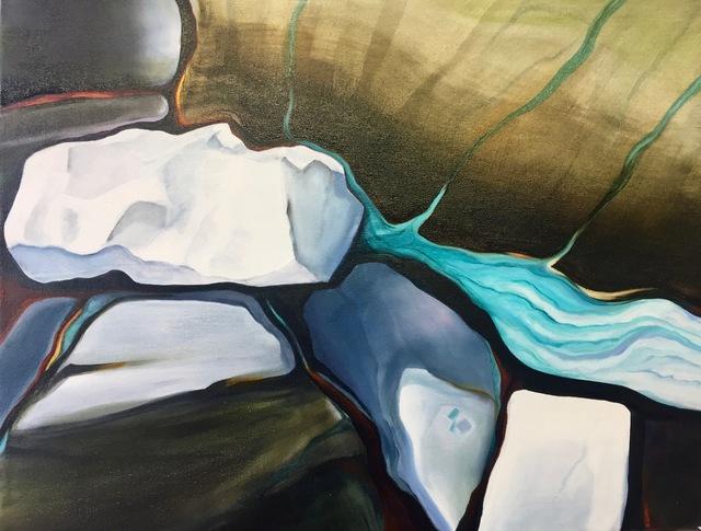 , 'Glacier Stone 3,' 2018, InLiquid