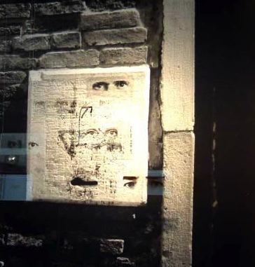 Graciela Sacco, 'Untitled | Sin título', 2001, Photography, Mono vintage print. Gelatin silver bromide on RC paper. Photograph from the Between Us urban interference - 49th Biennale of Venice, Italy, 2001. | Monocopia - copia de época. Gelatino bromuro de plata sobre papel RC. Fotografía procedente de la interferencia urbana Entre nosotros - 49 Bienal de Venecia, Italia, 2001., ROLF ART