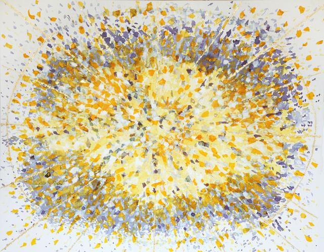 , 'Hibiscus Tea Series: Quantum Saffron Light,' 2017, Artist's Proof