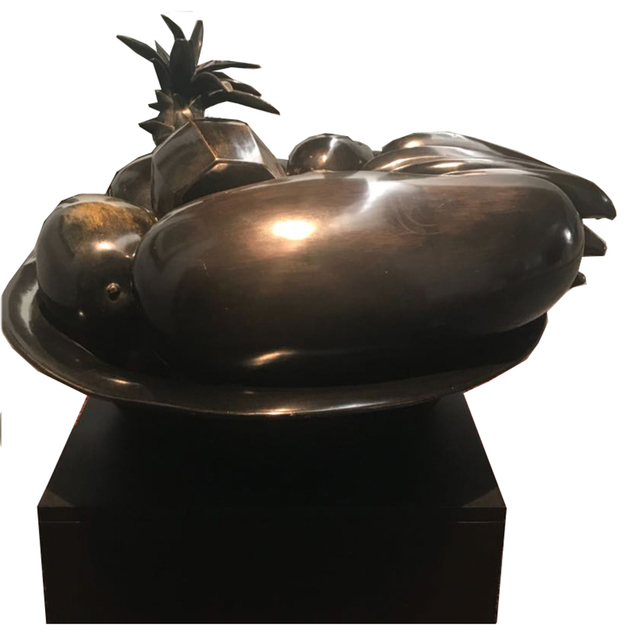 , 'Bowl with bananas,' 2002, Galeria El Museo