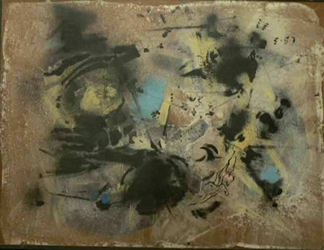 John Latham, 'Untitled', 1957, Richard Saltoun