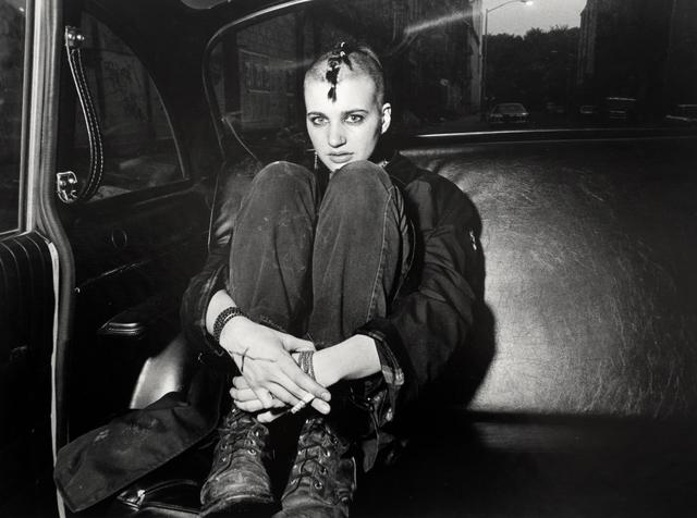 Ryan Weideman, 'Punk Donna in Boots and Backseat', 1982, Bruce Silverstein Gallery