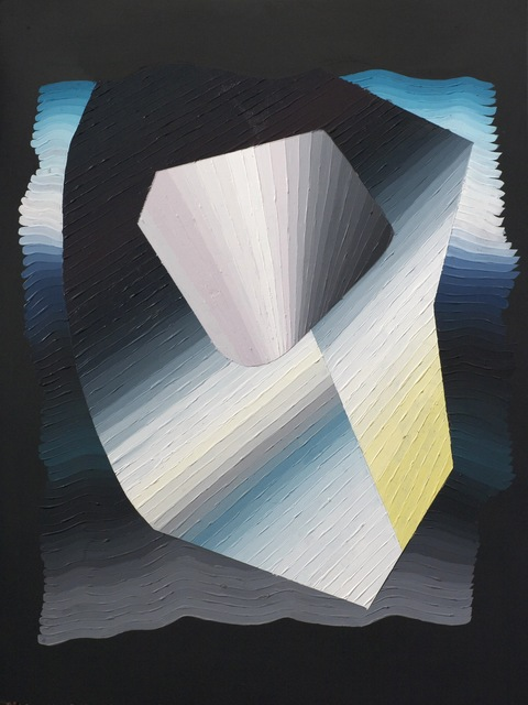 , 'circuitous,' 2014, Moskowitz Bayse