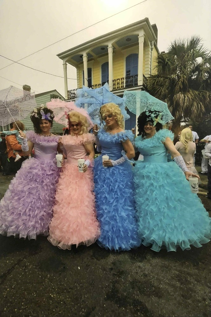 """""""The Belles with the Balls,"""" photograph, 18 x 24"""", $750 framed, by Joshua Lee"""