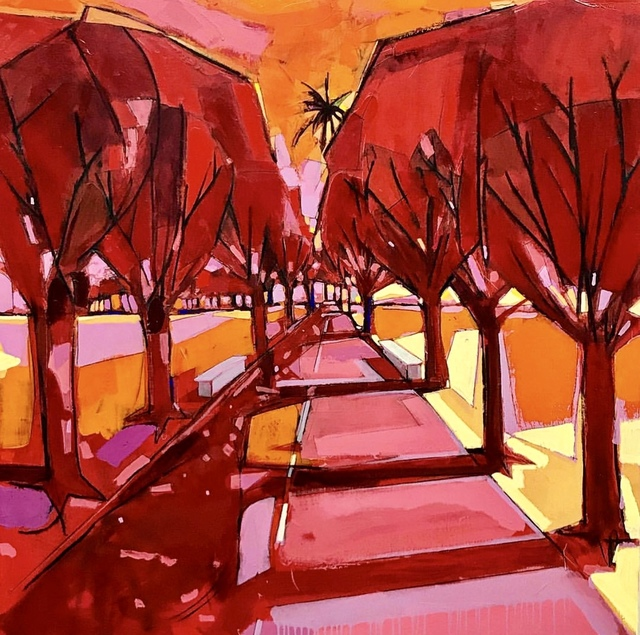 , 'Carretera Vieja Roja,' 2018, Galería Petrus