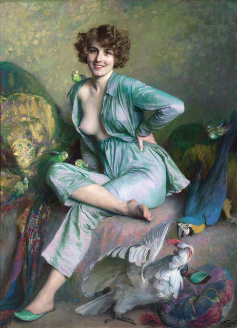 , 'The Familiar Birds,' 1921, M.S. Rau Antiques