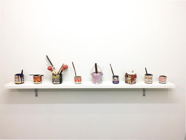 , 'Homage A Pollock,' 2016, V1 Gallery