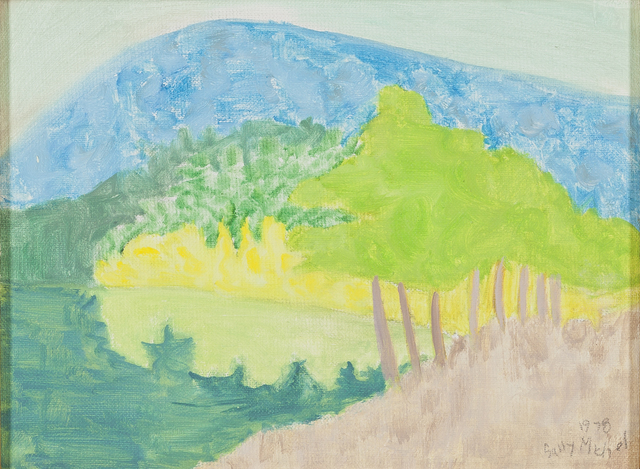 , 'Reflected Mountain,' 1978, Childs Gallery