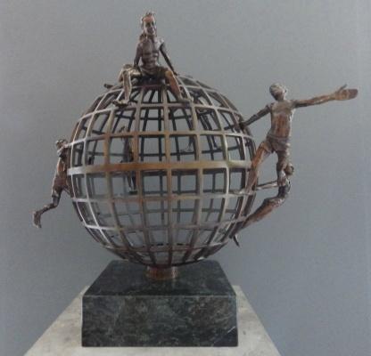 Guillermo Gomez Macias, 'Galileo Galilei Y sin Embargo se Mueve', Galleria Dante