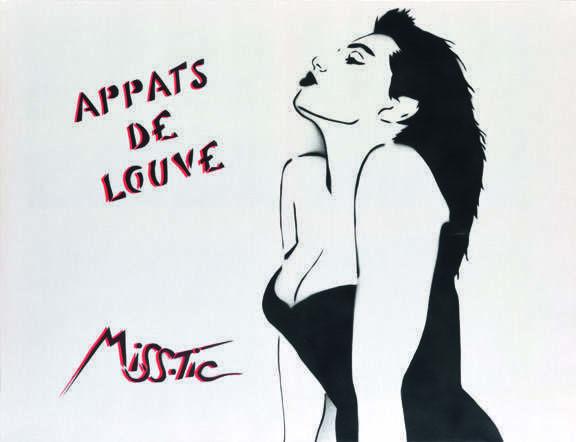 Miss Tic, 'Appats de louve', Digard Auction