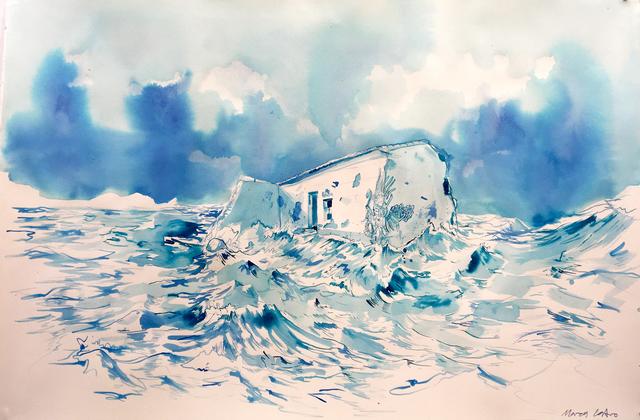 , 'Sobre el color del sur y las futuras ruinas ,' 2017, Machete
