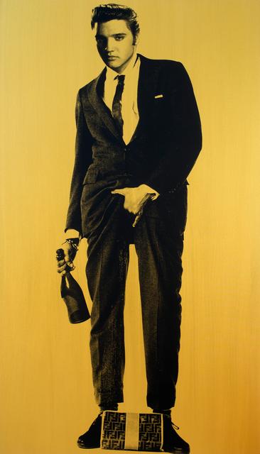 , 'Elvis Presley (Gold),' 2015, Joseph Gross Gallery